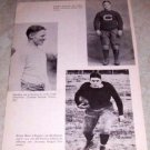 COLLEGE FOOTBALL J WELCH J SCHWARTZER H HAZEL PHOTO
