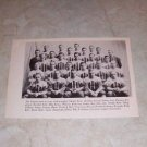 COLGATE UNIVERSITY 1932 FOOTBALL TEAM PHOTO