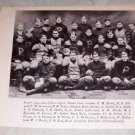 UNIVERSITY OF PENNSYLVANIA 1904 FOOTBALL TEAM PHOTO