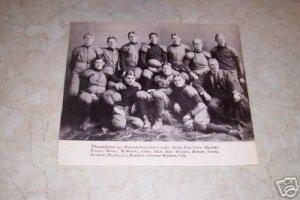 HARVARD 1901 FOOTBALL TEAM PHOTO