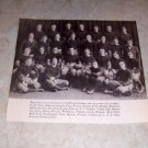 HARVARD 1914 FOOTBALL TEAM PHOTO