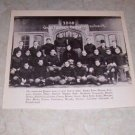 UNIVERSITY OF PENNSYLVANIA 1908 FOOTBALL TEAM PHOTO