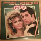 GREASE Soundtract Travolta Newton-John Double LP 1978