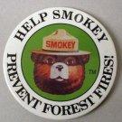 SMOKEY BEAR PINBACK + SMOKEY BEAR COMIC