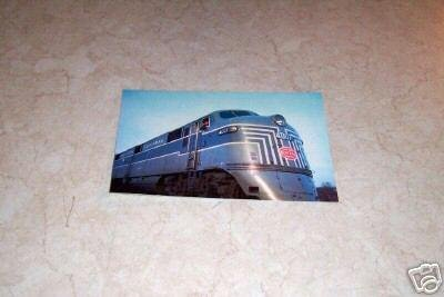 NEW YORK CENTRAL SYSTEM 4007 PASSENGER TRAIN POSTCARD