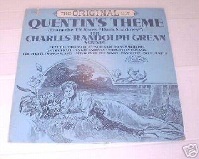 Quentin's Theme TV Dark Shadows LP Record Charles Grean