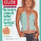 TV GUIDE 2005 Kelly Ripa Summer Diet Special Hottest Dads