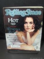 ROLLING STONE MAGAZINE 604 May 16 1991 Winona Ryder