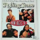 ROLLING STONE Magazine  602 New Faces 91 April 18 1991