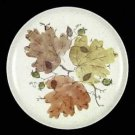 METLOX POPPYTRAIL WOODLAND GOLD DINNER PLATE Set of 3