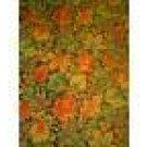 OAK MAPLE LEAVES NUTS BERRY FABRIC Cranston