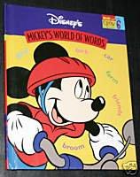DISNEY MICKEY'S WORLD OF WORDS Volume 6