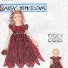 "Simplicity 9947 DAISY KINGDOM DRESS 1/2-1-2 & 18"" DOLL DRESS"