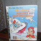 Alvin Chipmuniks ALVIN'S DAYDREAMS Little Golden Book