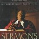 Peter J Gomes SERMONS Bibical Wisdom For Daily Living 1998