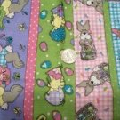 JELLY BEAN PARADE EASTER BUNNY CHICK FABRIC