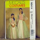 McCall's 5414 EARLY AMERICAN GOWNS Miss XS S M L OOP