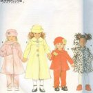Simplicity 4833 Coat Jacket Pants Hat Scarf Girls 5-6x 1998