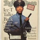 Rolling Stone Magazine 637 Aug1992 Ice-T Cover