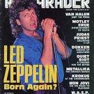 Hit Parader Aug 1986 Van Halen Motley Crue Judas Priest