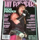 Hit Parader Nov 1984 Iron Maiden Motley Crue Judas Priest