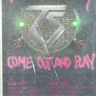 Twisted Sister Come Out And Play Cassette 1985