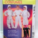 McCall's 7856 ASTRONAUT SPACE SUIT STAR TREK Kids 7-8 OOP