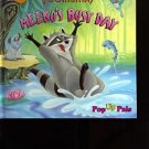 Pocahontas Meeko's Busy Day Pop Up Book 1995