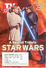 TV Guide May 2005 STAR WARS TRIBUTE