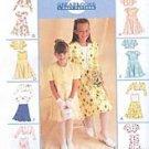 McCall's 9186 Bolero Dress Girls 4-5-6 1998