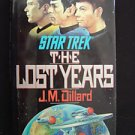 STAR TREK THE LOST YEARS J. M. Dillard 1989 Sci-Fi