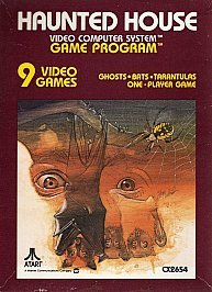 Haunted House Video Arcade Sears Atari 1981