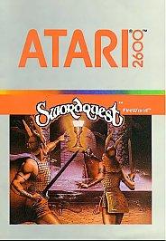 Swordquest Fireworld Atari 2600 1982