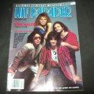 Hit Parader Magazine Van Halen Iron Maiden Kiss 1984