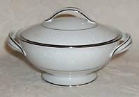 Noritake Buckingham 6438 Sugar Lid Small Oval Bowl