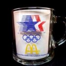 McDonalds 1984 Los Angeles Olympics Glass Mug
