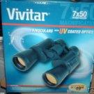 VIVITR BINOCULARS 7x50 MAGNIFICATION NiB