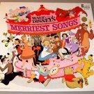 WALT DISNEY'S MERRIEST SONGS DL-3510 LP RECORD 1968