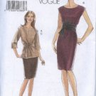 Vogue 8278 Dress Sash Skirt Top Misses 14-20 2006