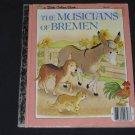 The Musicians of Bremen Little Golden Book 1983