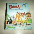 Disney Bambi Friends of the Forest Little Golden Book 1978