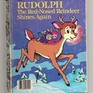Rudolph the Red Nosed Reindeer Little Golden Book 1982