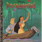 Disney POCAHONTAS Little Golden Book 1995