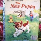 THE NEW PUPPY Little Golden Book 1969