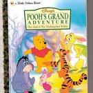 Disney POOH'S GRAND ADVENTURE Little Golden Book 1997