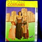 McCall's 8449 MEDIEVAL GOWN SHAWL MISSES 20-22 X-Large