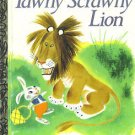 Tawny Scrawny Lion Little Golden Book Chick-fil-A 1994