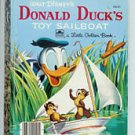 Disney Donald Duck's Toy Sailboat Little Golden Book 1954