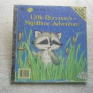 Little Raccoon's Nighttime Adventure Big Little Golden Book 1986