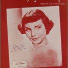 TILL I WALTZ AGAIN WITH YOU SHEET MUSIC TERESA BREWER 1952